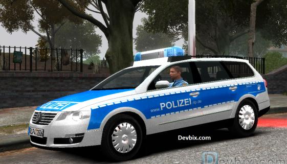 gta4-german-police-vw-passat-(Deutsche-Polizei)